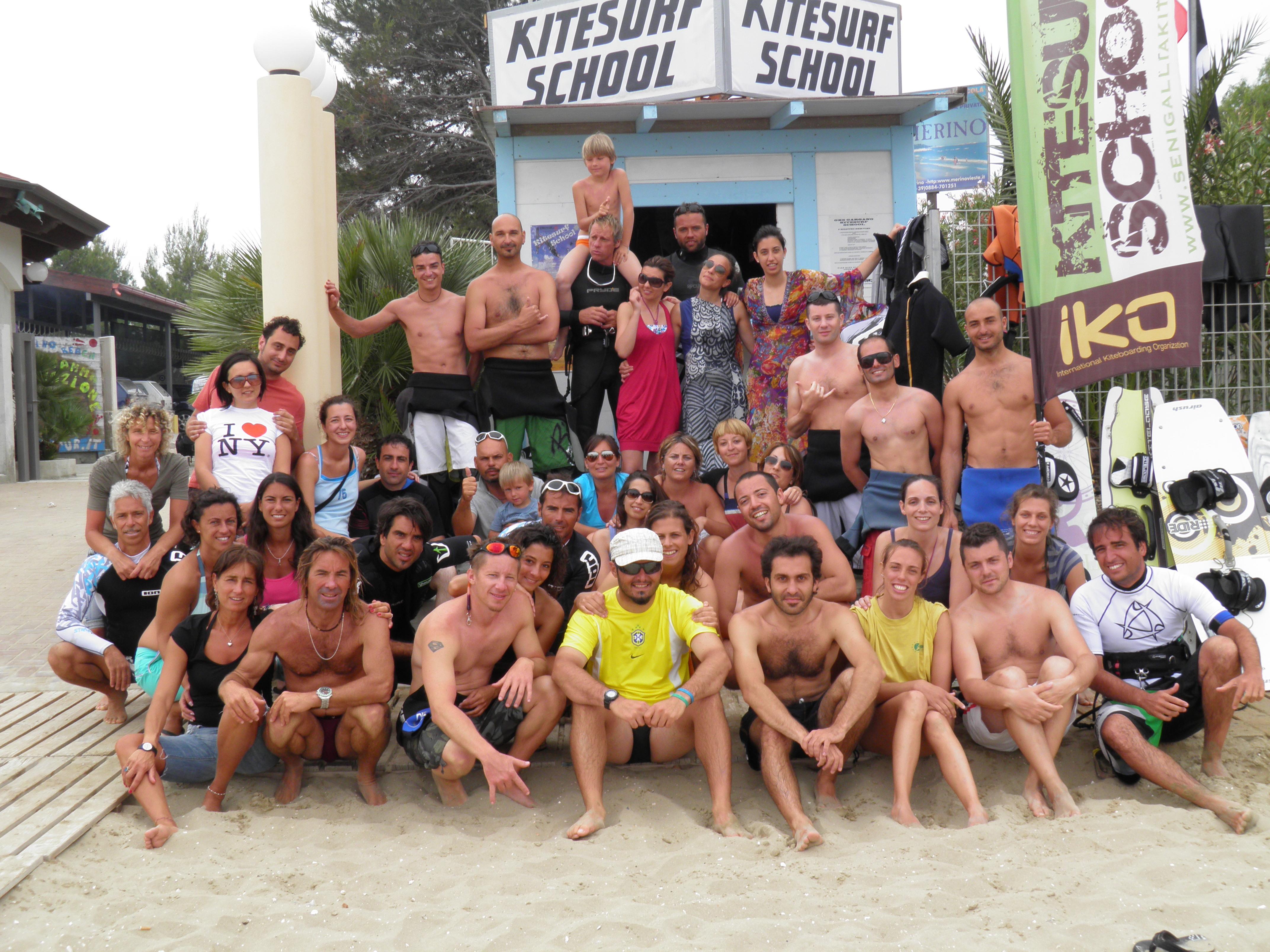 Kitetrip Vieste 2011