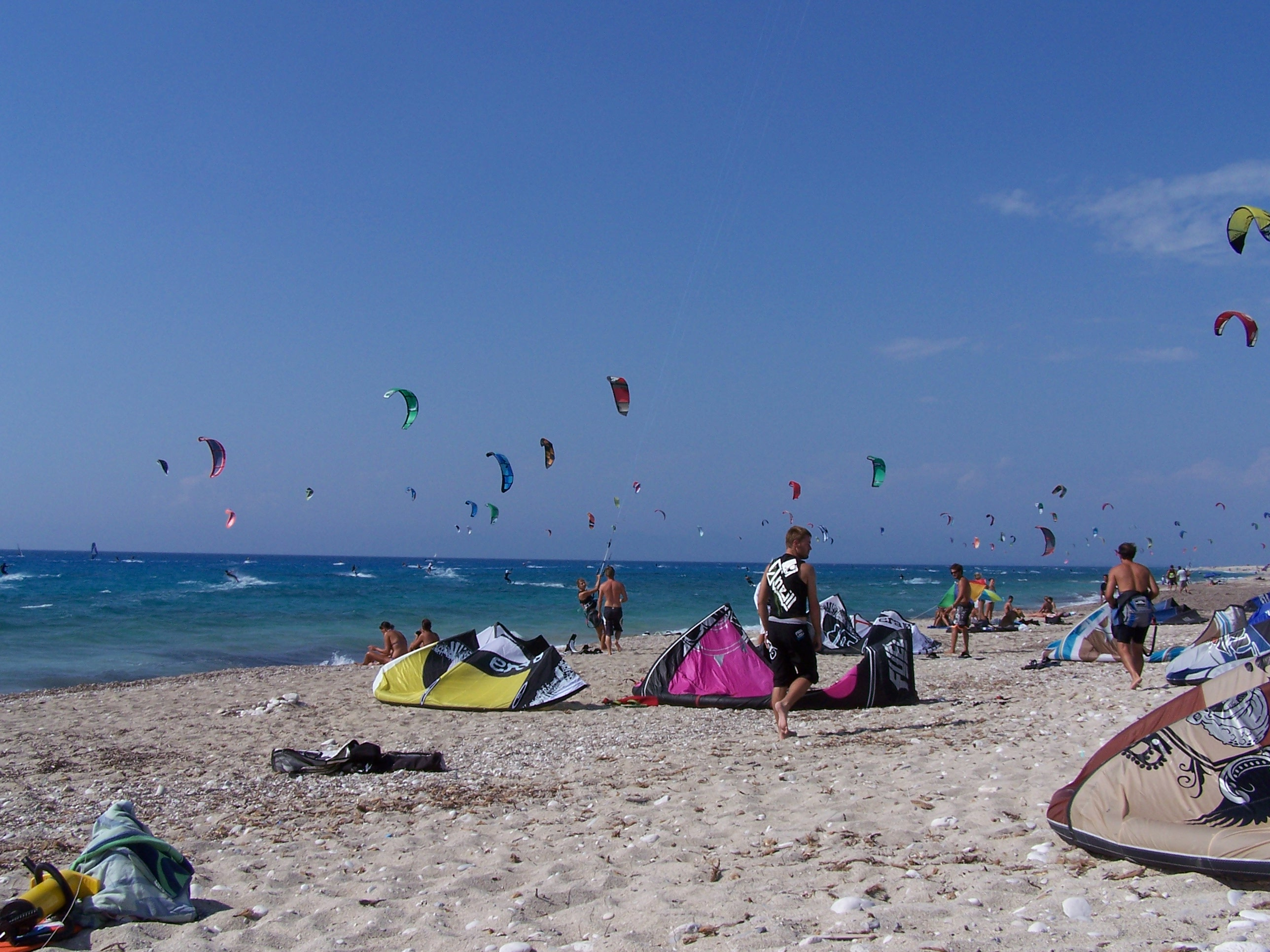 Kite Session Lefkada 2009